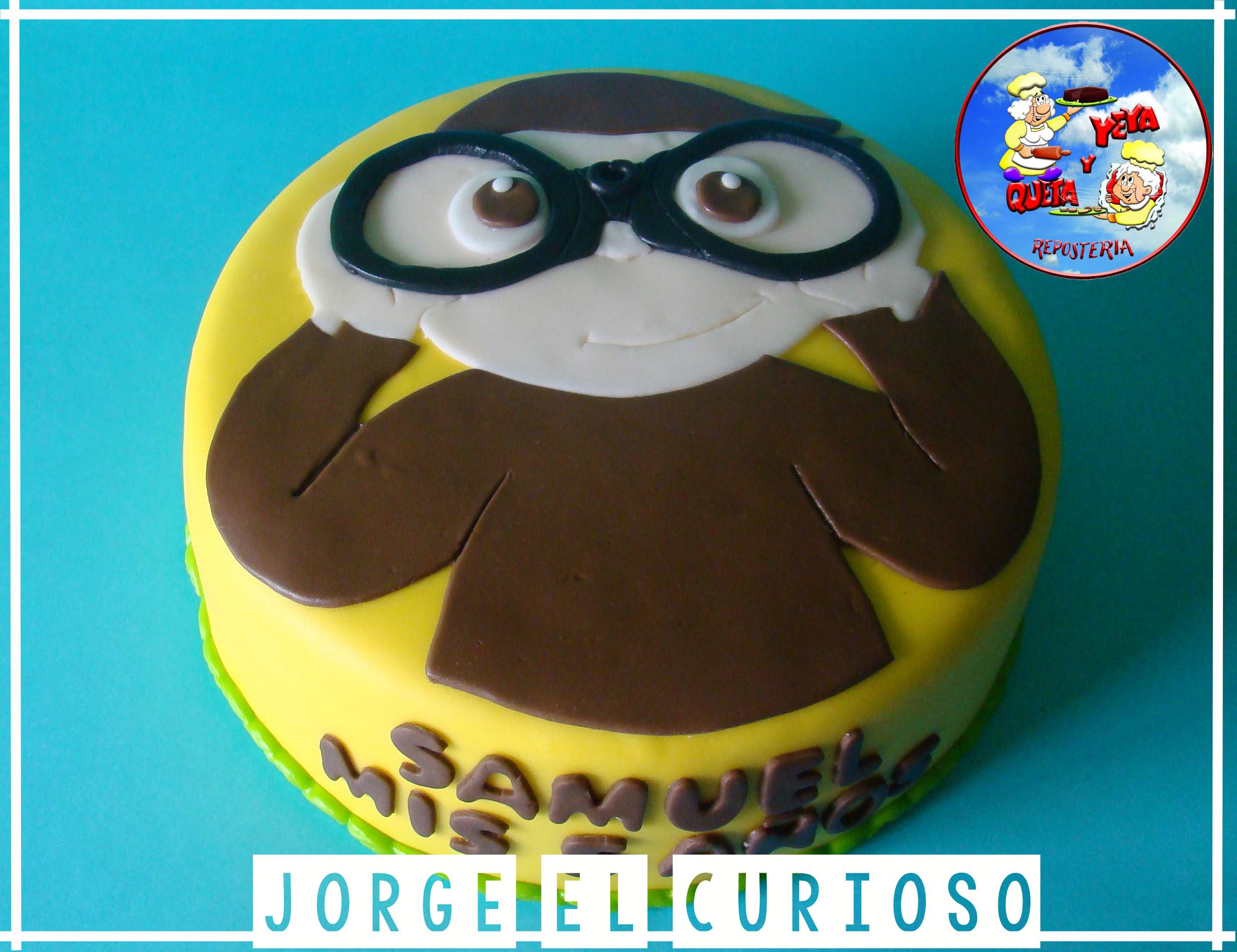 #tortajorgeelcurioso #jorgeelcuriosocake