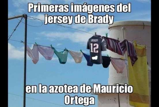 Los mejores memes de Mauricio Ortega, el ladrón del jersey de Tom Brady. - Editorial MedioTiempo