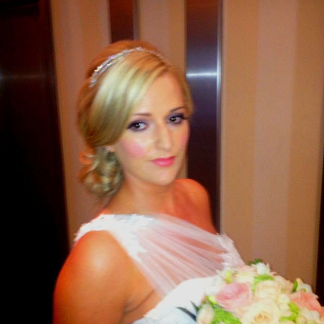 Hair and makeup I did for jo