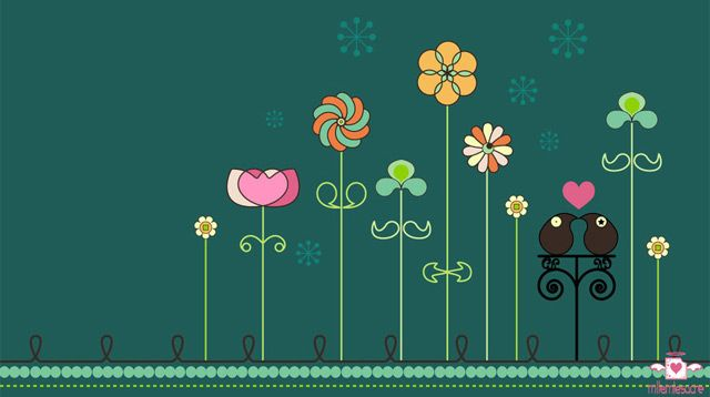 20 Inspiring Desktop Wallpapers for Spring #springdesktopwallpaper