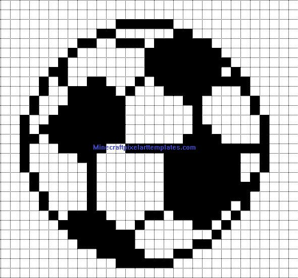 pixel art football