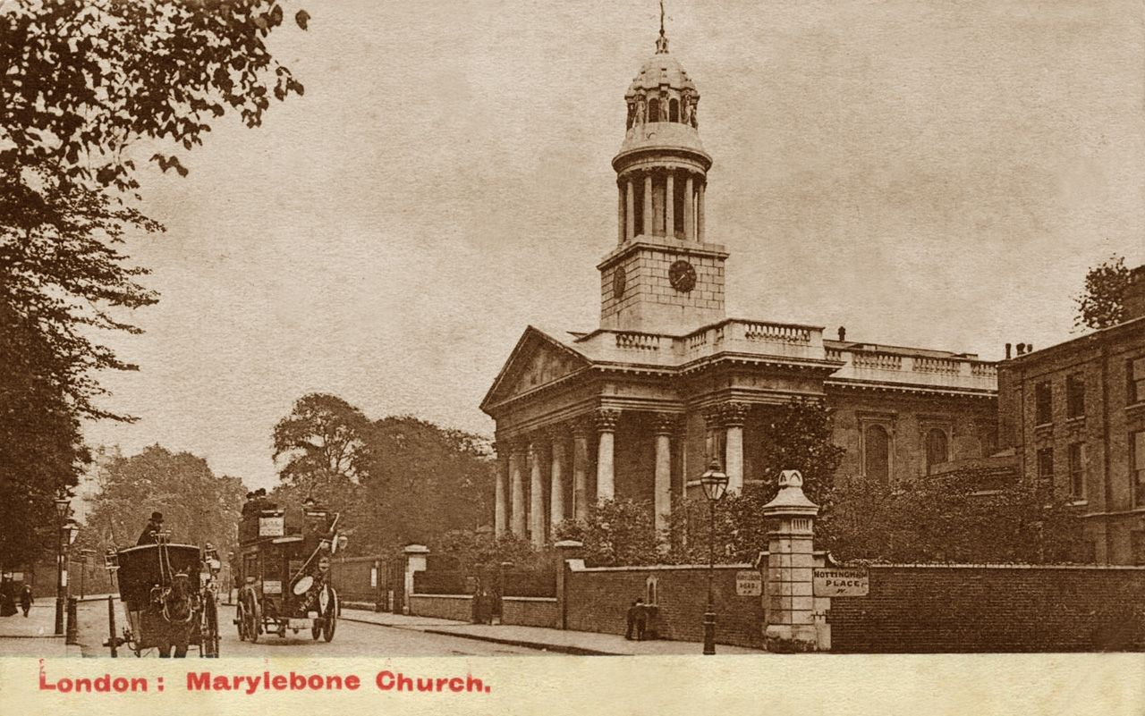 London, Marylebone Church