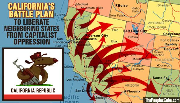 California Communists at War with America