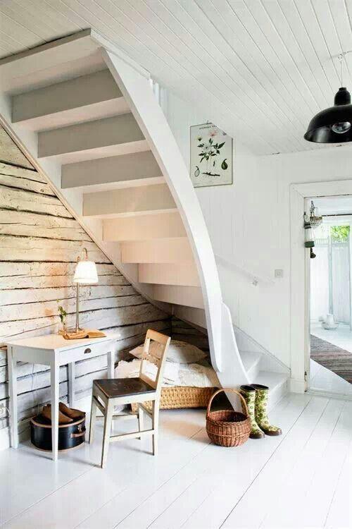 Unusual stairway