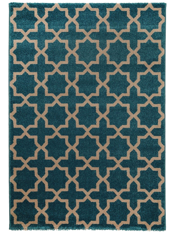 benuta Teppiche Teppich Arabesque Teppich Arabesque Blau 160x230 cm ...