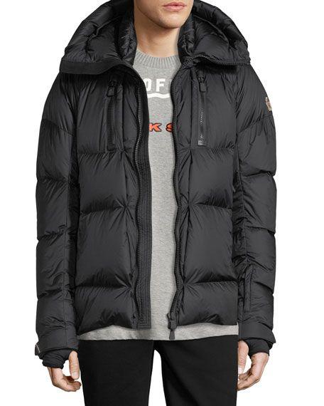 33cf462a2 MONCLER Grenoble Collection Valloire Down Jacket, Black. #moncler ...