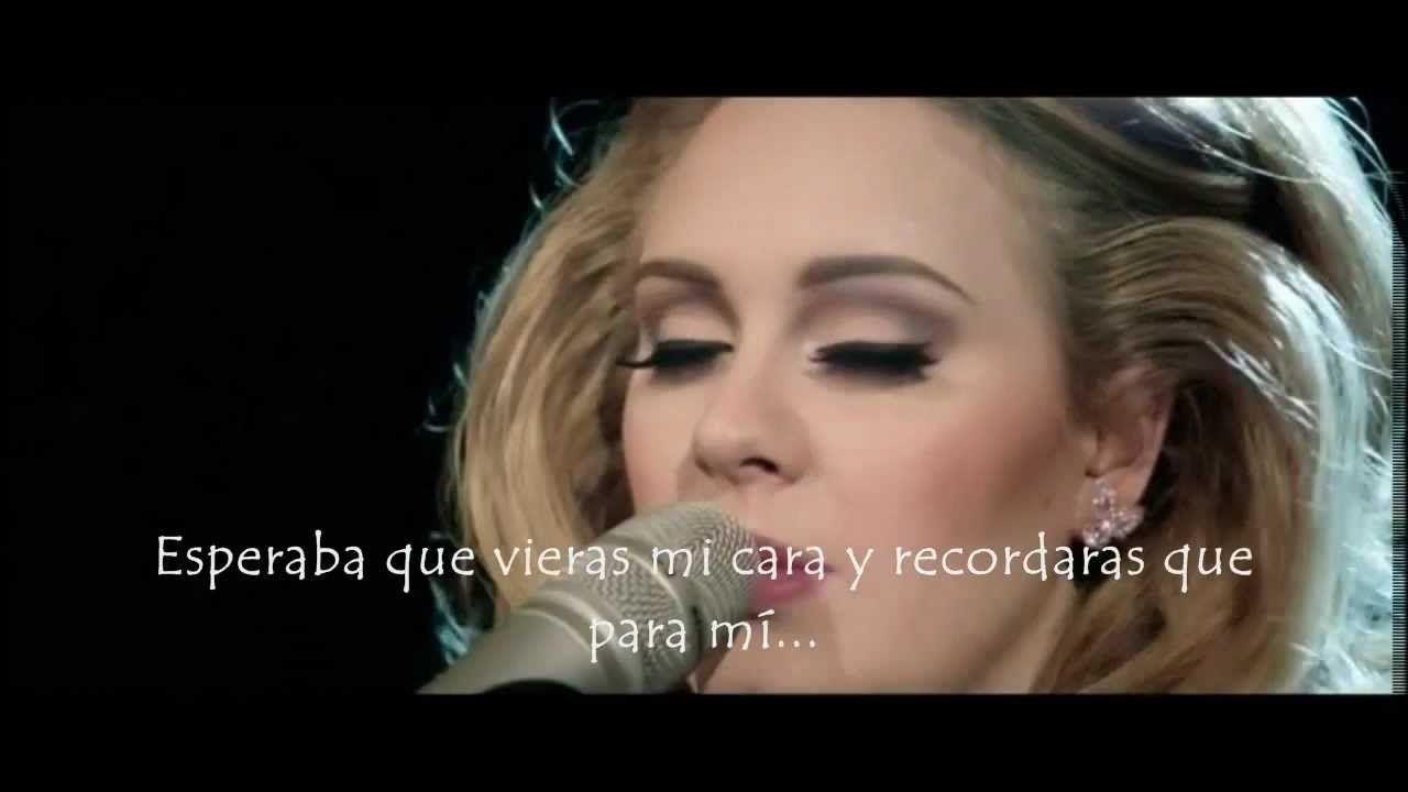 Adele Someone Like You Live Subtitulada Al Espanol