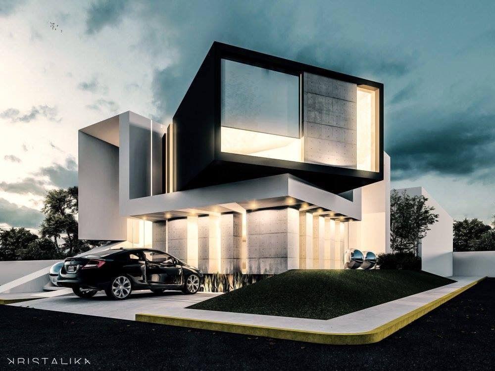 Épinglé par Yuri Sazonoff sur house | Pinterest | Maison moderne ...