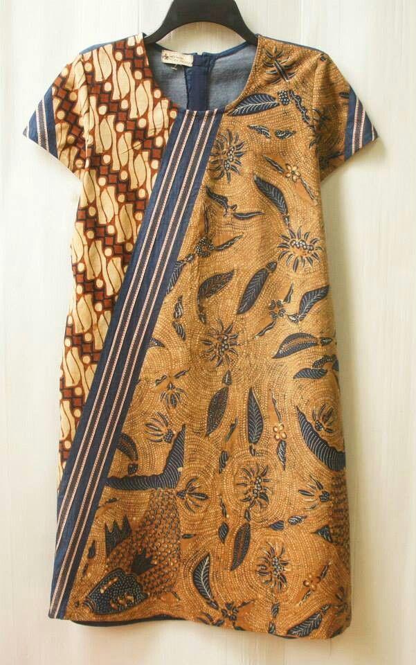 Diagonal puzzled dress sogan