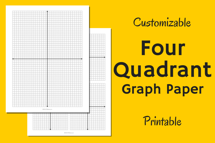 Math Grid Paper Template Image Of Four Quadrant Graph Paper  Education  Pinterest  Graph .