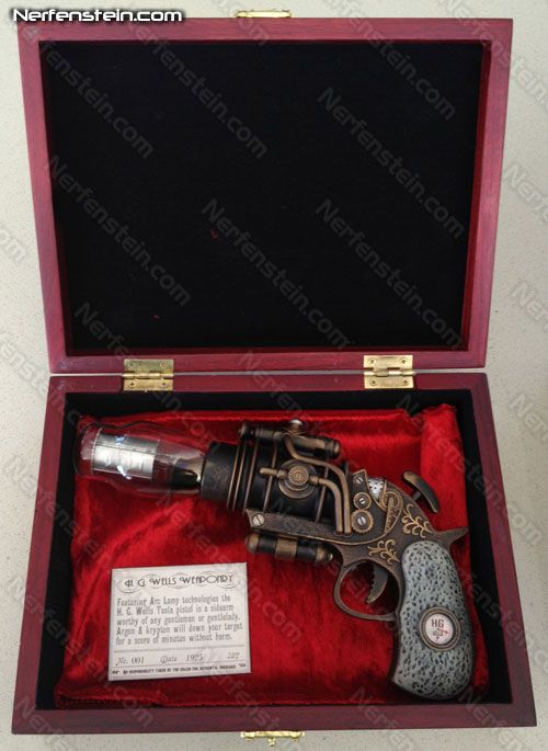 Ray Gun - perfect for Nazi Zombies Nerfenstein - Warehouse 13 - H.G. Well's tesla
