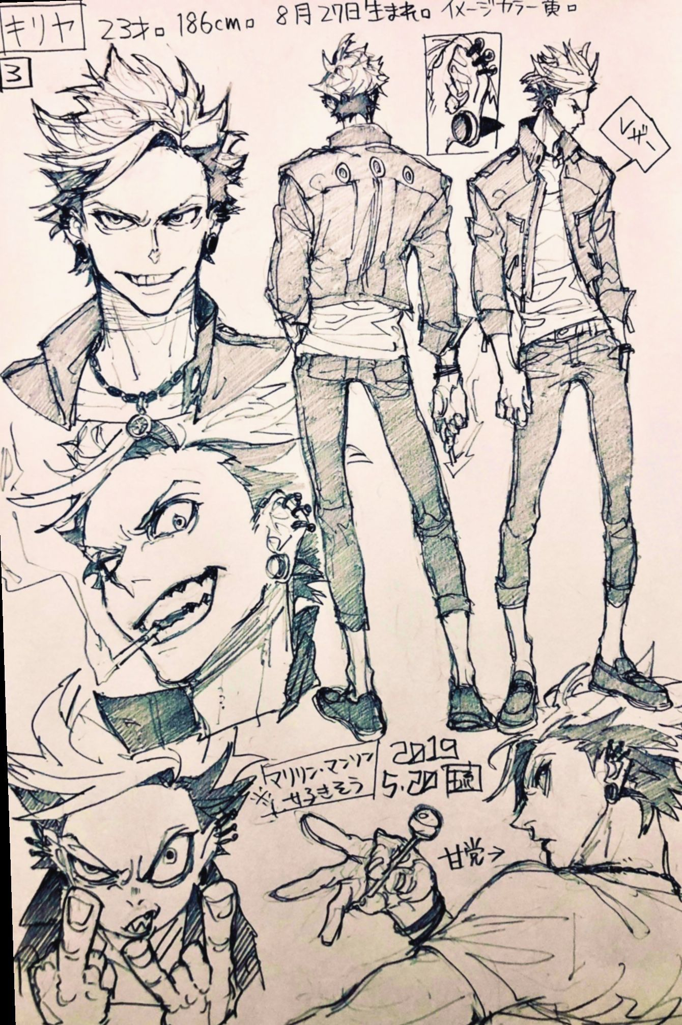 Photo of 13+ Anime Sketch Book Character Design –  13+ Anime Sketch Book Character Design…