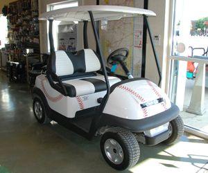 Baseball Golf Cart Golf Carts Baseball Design Golf Buggy