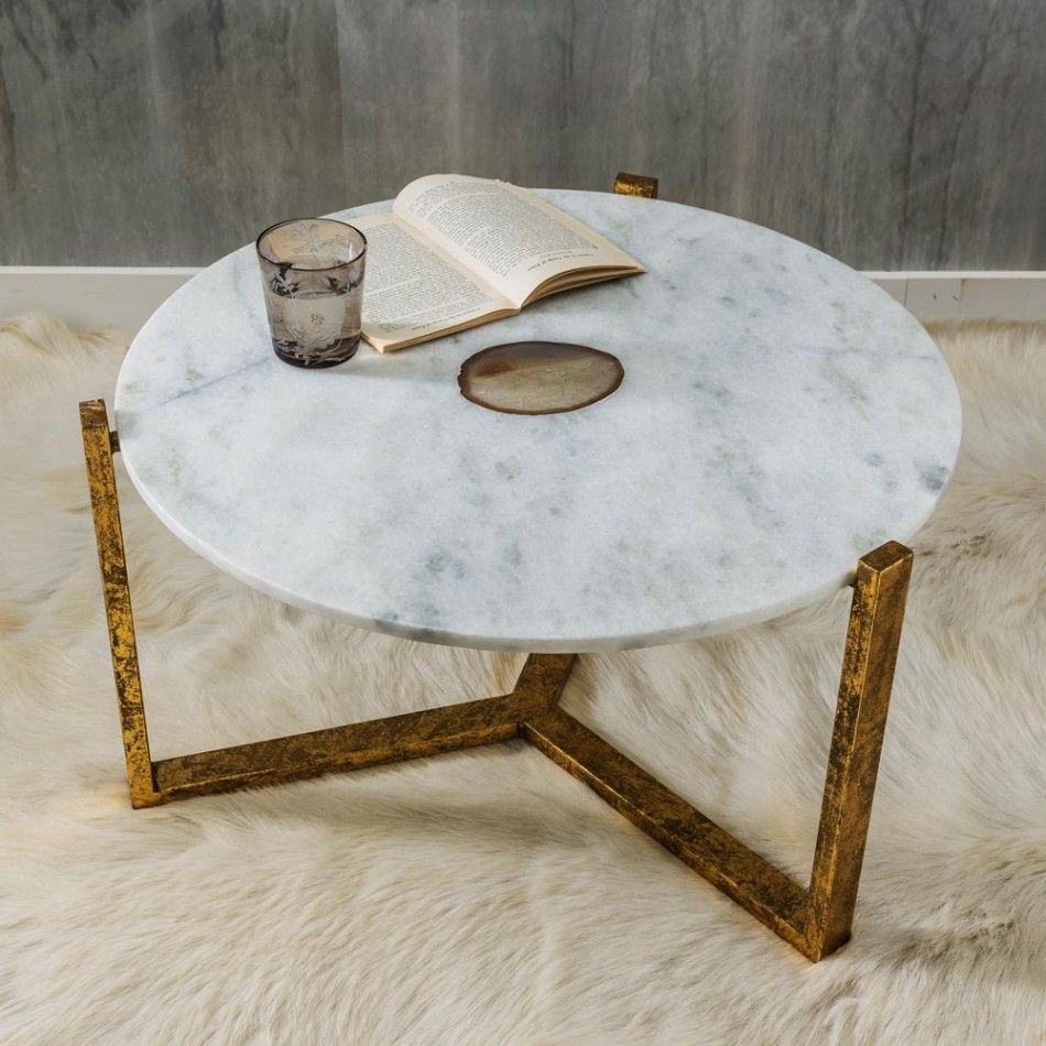 Graham Green Natural Agate Coffee Table Coffee Table Modern