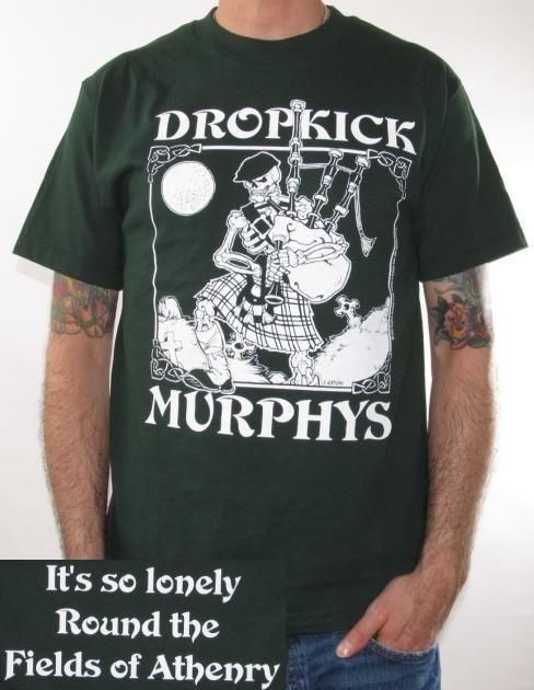 Click for Full Size Image of Dropkick Murphys, T-Shirt ...