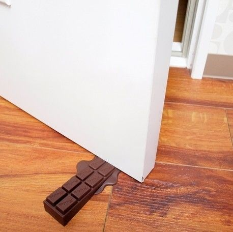 Chocolate Door Stopper Door Stopper Melting Chocolate Cool Things To Buy