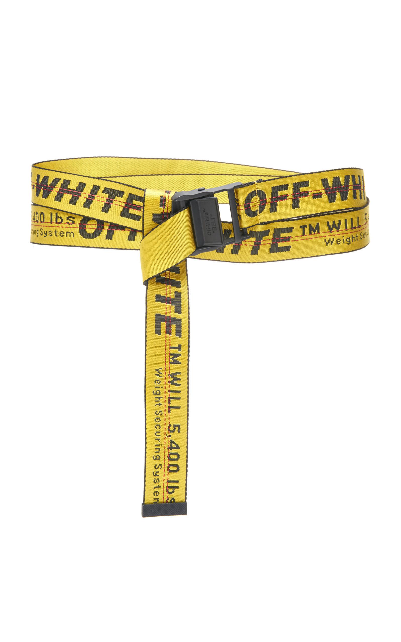 Classic Industrial Belt By Off White C O Virgil Abloh Moda Operandi In 2020 Outfit Ideen Gurtel Anziehsachen