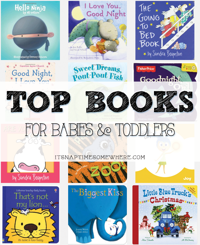 TOP BOOKS FOR BABIES AND TODDLERS | BABIES | KIDDOS