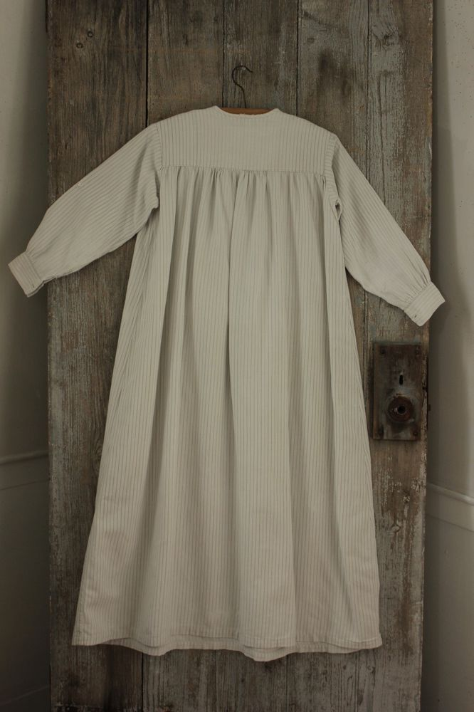 00bb886eaeb13a Vintage Child s nightgown night dress soft cotton c 1920 s French textile
