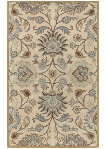 Caesar Light Blue Hand Tufted Wool Rug Sucae1012 9x12 Wool Area