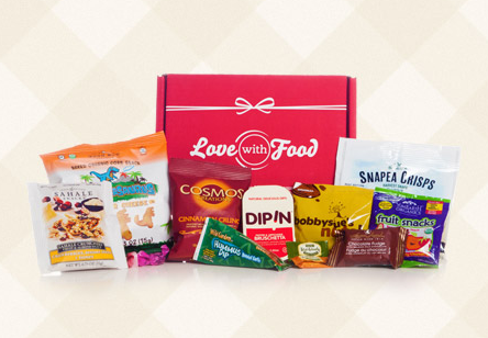 Love With Food Coupon Code – First Box for Only $5!