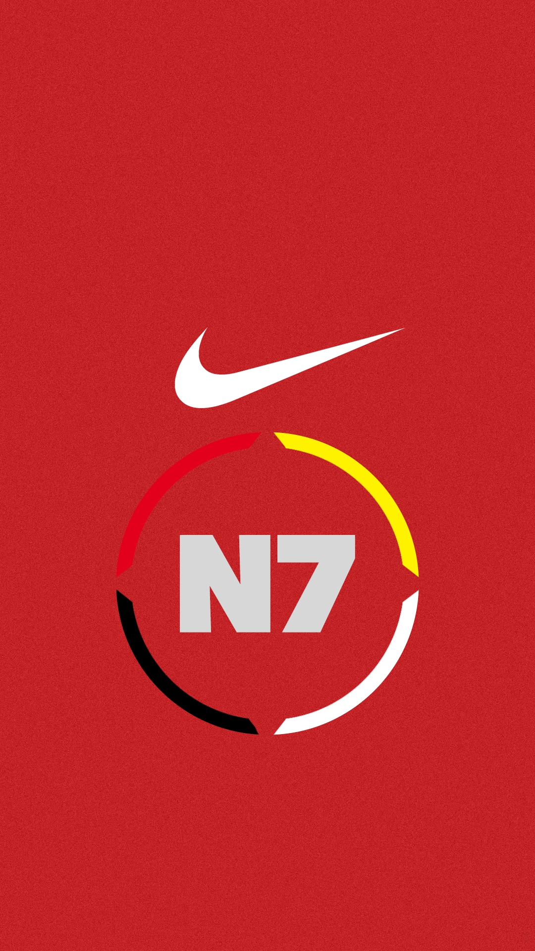N7 Red Nike Image For Iphone