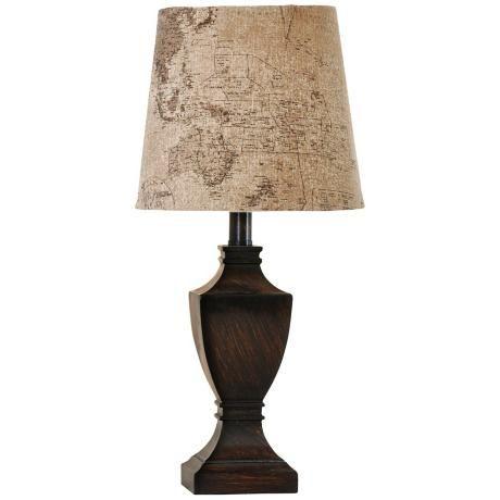 Walnut Ridge With Global Shade Mini Table Lamp 2t432 Lamps Plus Mini Table Lamps Lamp Table Lamp