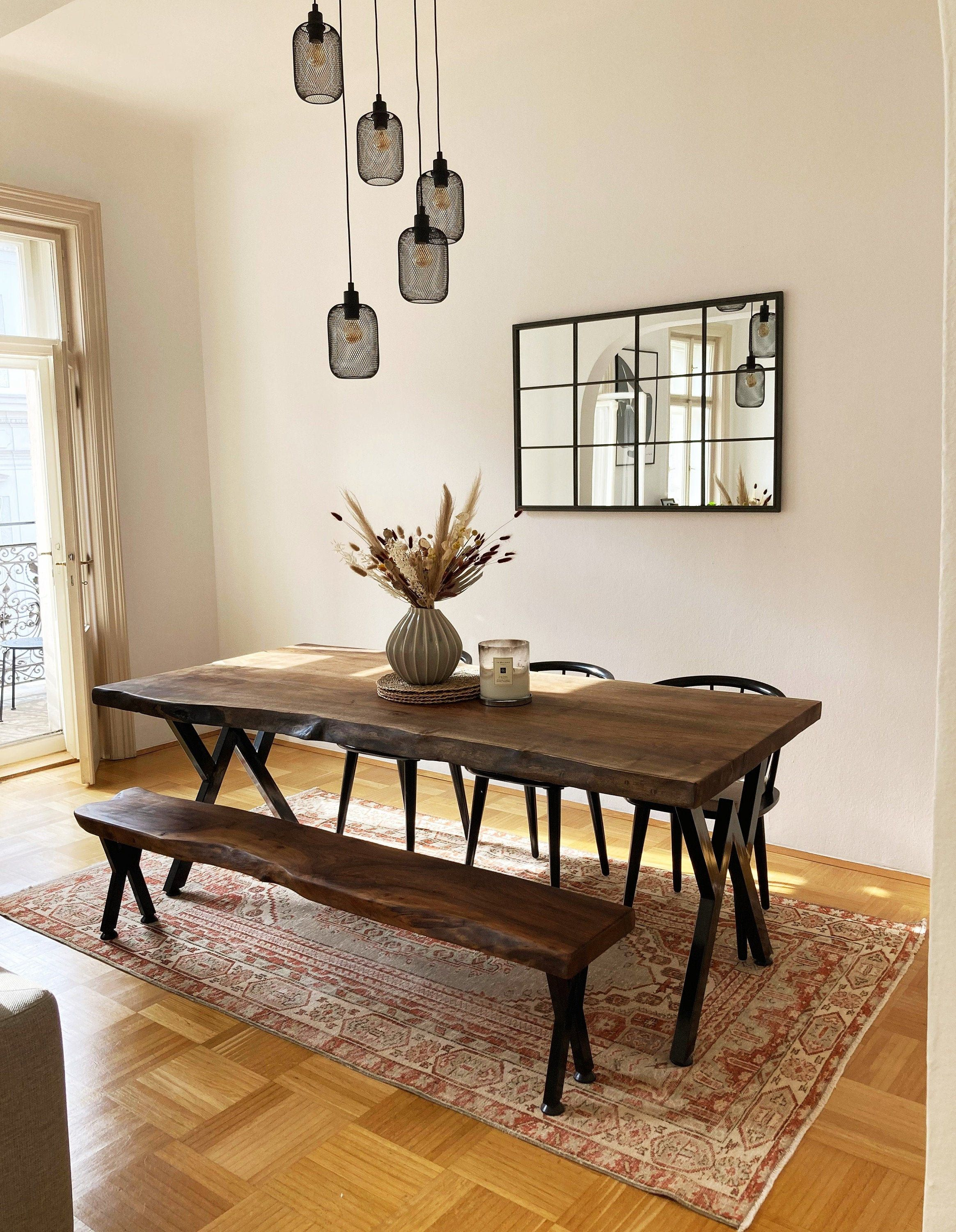 Custom Order,Walnut Table,Benches,Dining Table,Live Edge Walnut,Custom Live edge table or bench,Coffee Table,Custom Furniture,Metal Bases,
