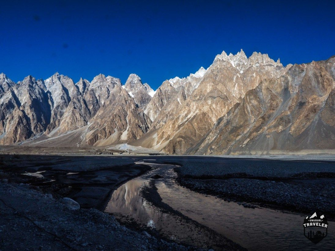 Cathedral Ridge seen from Passu