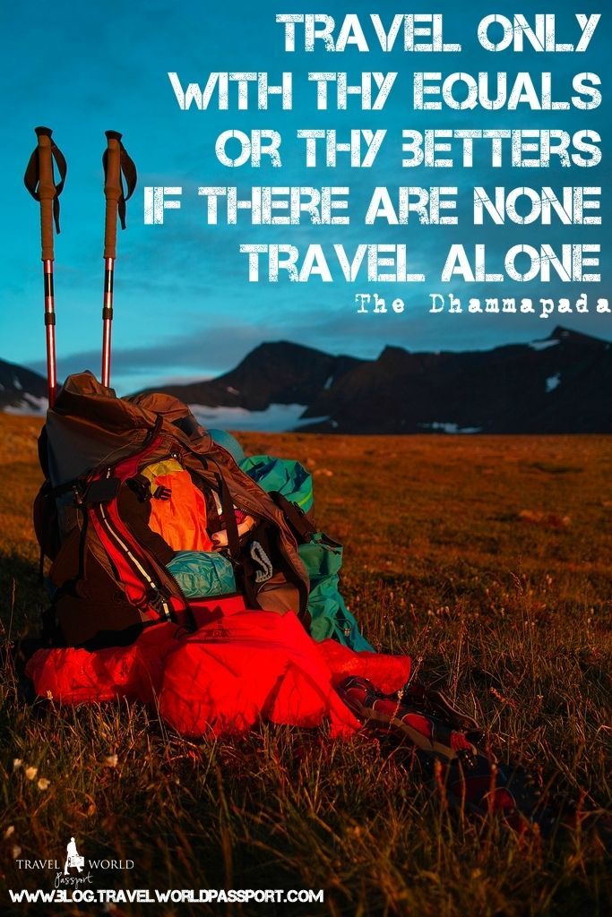 Travel Alone Quotes Quotes For All Those Who Love To Travel Solo  Wanderlust Quotes .