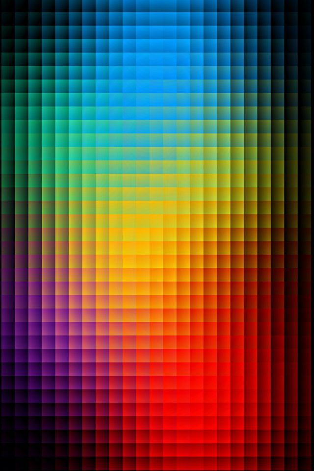 Blurred Color Pixels iPhone wallpaper Neon wallpaper