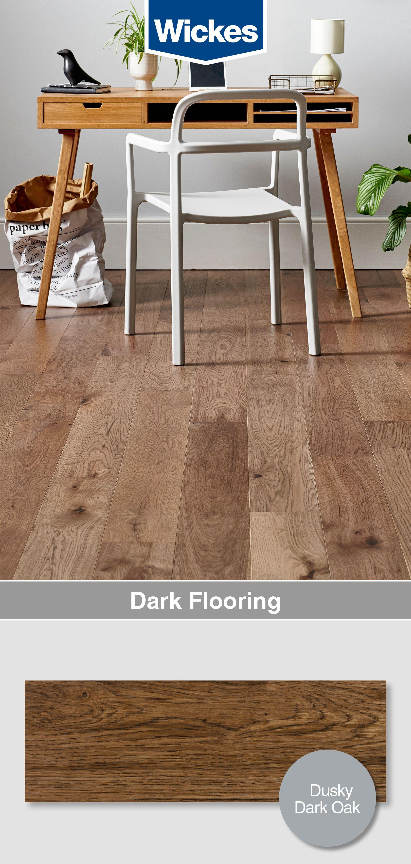 Style Dark Oak Solid Wood Flooring 1.5m2 Pack