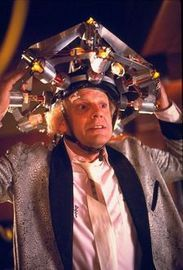 Christopher Lloyd as Dr. Emmett L. 'Doc' Brown in The Back to the Future Trilogy