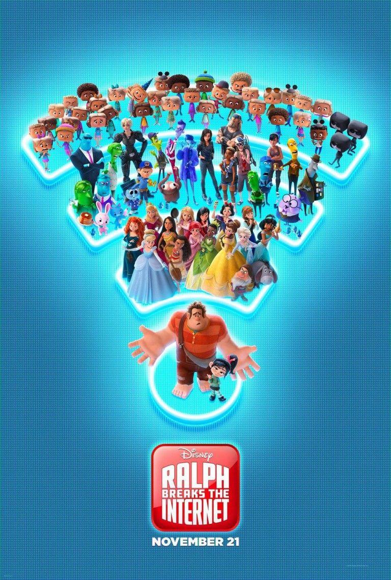 Wifi Ralph Ganha Novo Poster E Trailer Com Imagens Detona