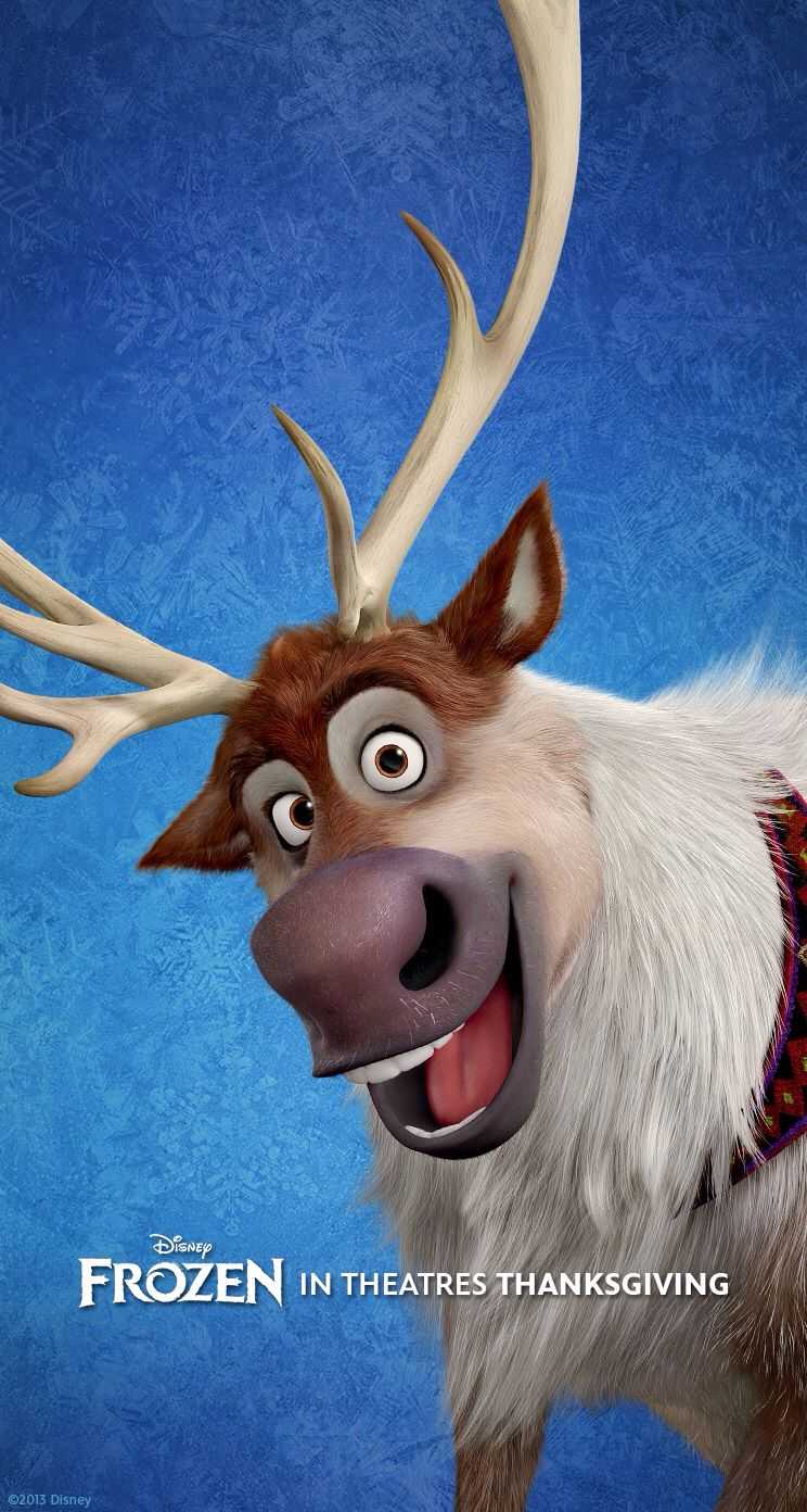 Sven The Reindeer From Frozen He S So Cute Sven Frozen Frozen Disney Movies Frozen Pictures