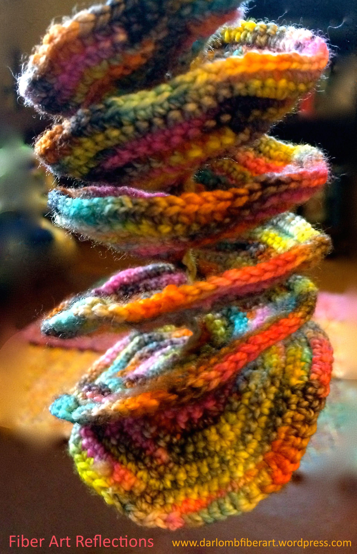 Crochet Tutorial: Expanding Spiral | Arrecifes de coral, Coral y ...