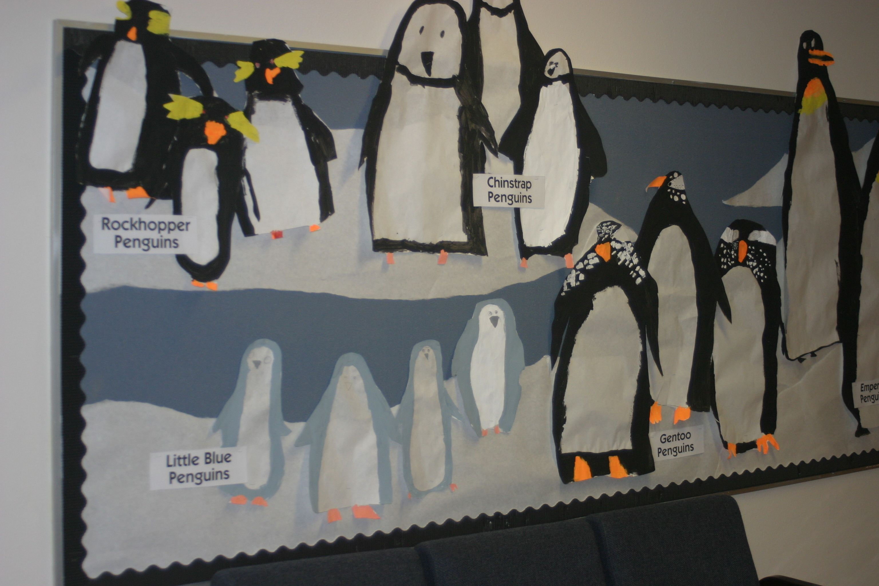 Bridges Math 1st Grade Penguin Examples Of Height Before Labels Were Put Up