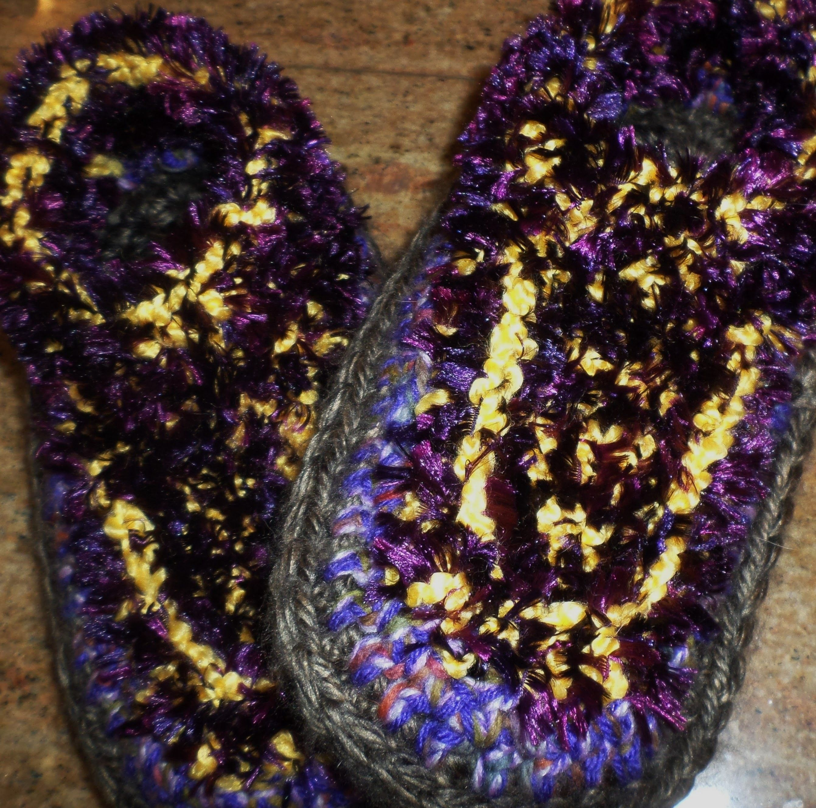 CROCHET SLIPPER BOOT TUTORIAL - PART 4
