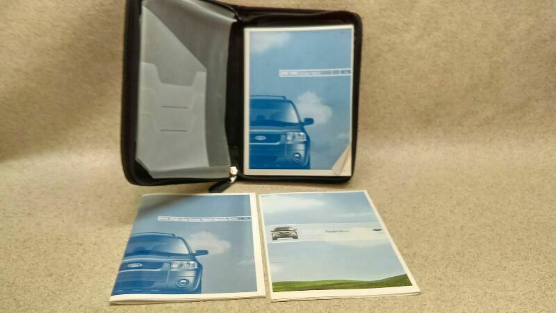 Owners Manual Guide Book Fits 2005 Ford Escape Hybrid M 170199 Ford Car Parts And Accessories Automotive Accessories Owners Manuals