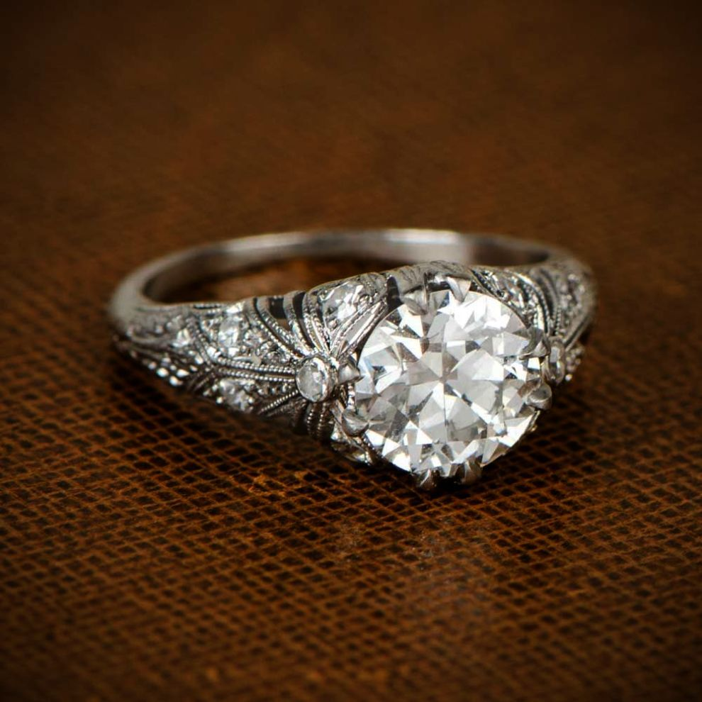 Diamond Ring Insurance Diamond Jewellery Loan Edwardian Engagement Ring Estate Diamond Jewelry Wedding Rings Vintage