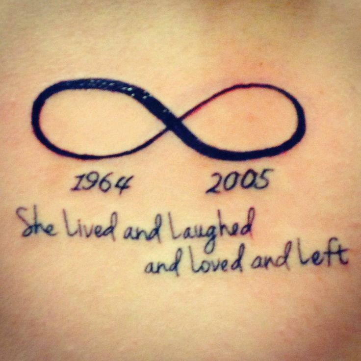 Loved Ones Year Of Birth And Death Tattoos Pinterest Tattoos