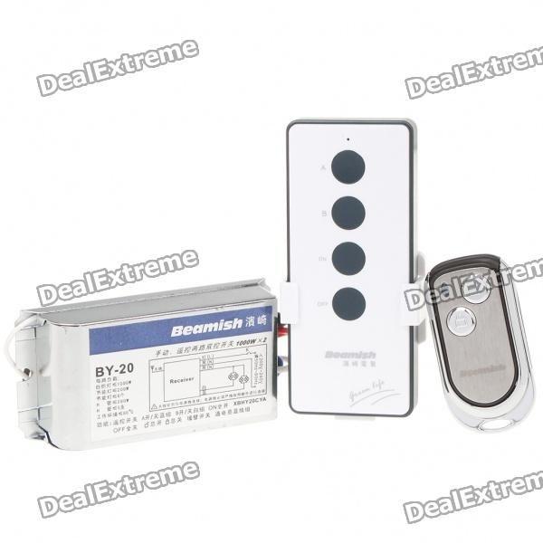 20%OFF + Wireless Remote Control Light Switch + Free