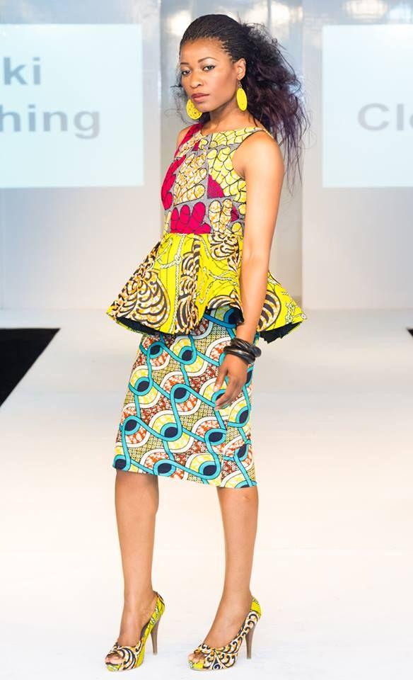 Model De Pagne Wax Ivoirien