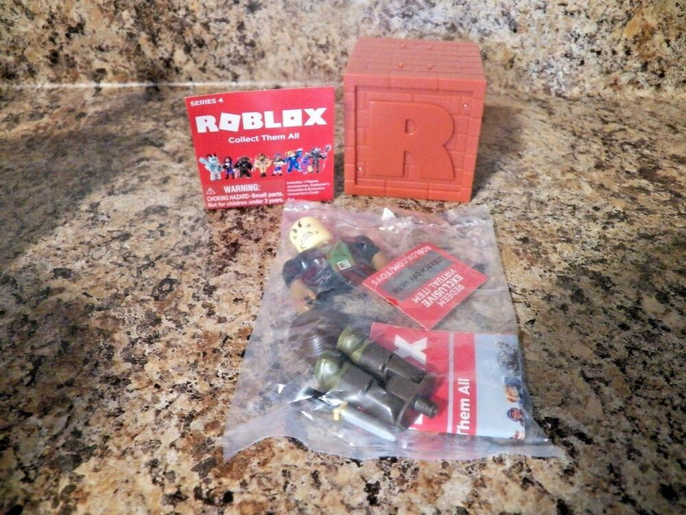 Roblox Series 4 - Roblox Series 4 Bombo W Code Free Shipping Wbox Mystery