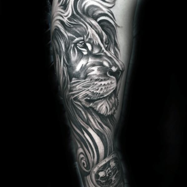 Top 63 Lion Sleeve Tattoo Ideas 2020 Inspiration Guide Sleeve Tattoos Tattoo Sleeve Designs Lion Tattoo Design
