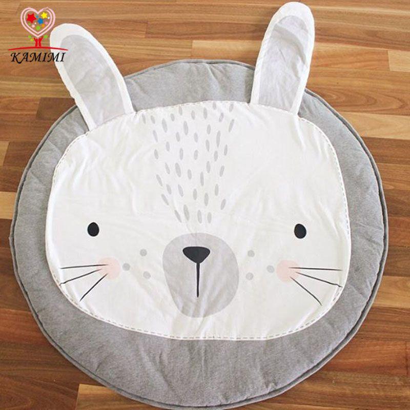 Babydecke Kaninchen Lowe Spiel Matte Kamimi Kinder Teppich Baby