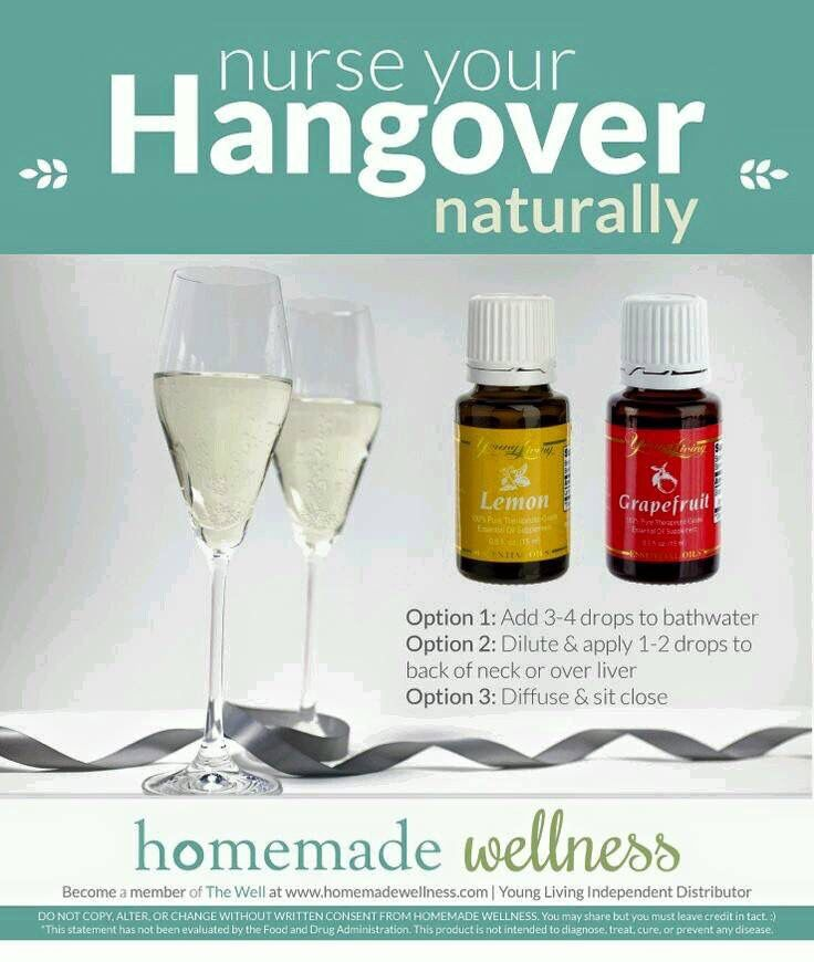 Hangover (With images) | Hangover essential oils Healing ...
