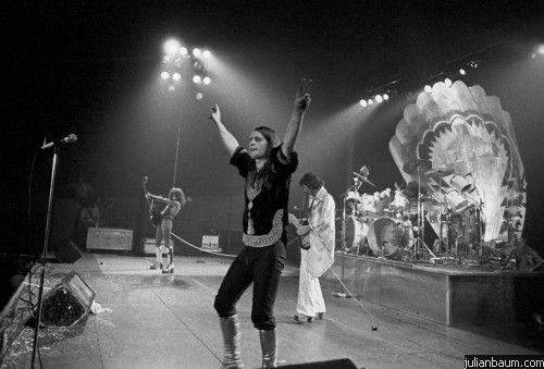 Black Sabbath touring for 'Sabotage', 1975...