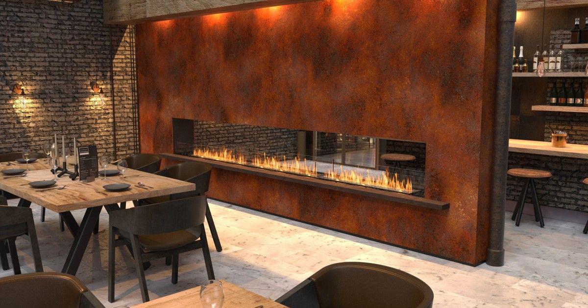 Flex Fireplaces Ideas Design Inspiration Ecosmart Fire Restaurant Fireplace Fireplace Inserts Fireplace