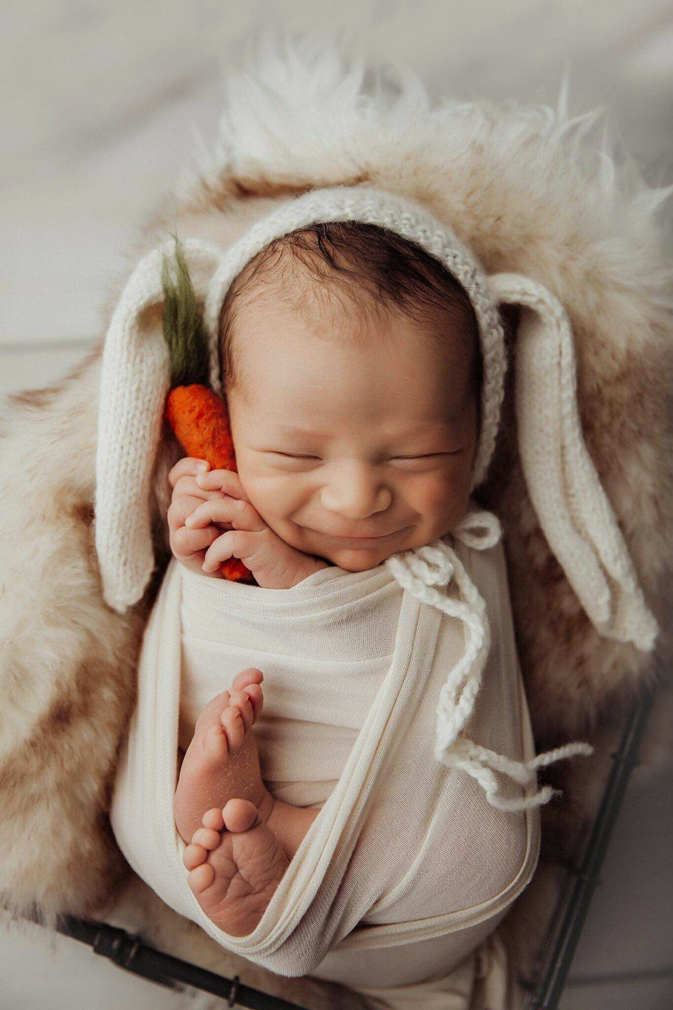 Baby photoshoot ideas for the home
